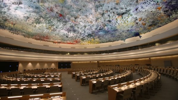 Co-Founder speaks at Human Rights Council